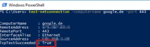 Preview PING Port - Windows cmd: PsPing - PowerShell Test-Netconnection