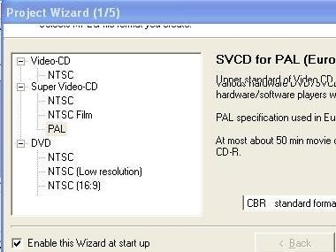 Preview VCD/ SVCD mit tmpgenc
