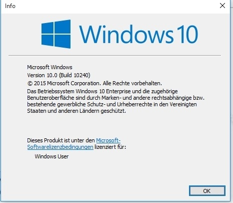 Preview Windows 10 Build 20H2 (Build 19042) : aktuelle Version anzeigen