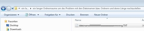Preview lange Ordner und Dateinamen MAX_PATH